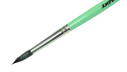 Кисть художественная белка круглая №12 короткая ручка Живопись