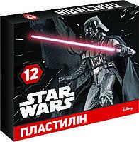 """Пластилин """"STAR WARS"""" 12 цветов"""