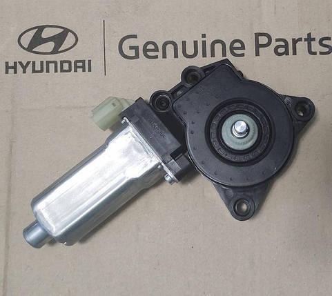Моторчик склоочисника Hyundai EX8, Хюндай EX8 (988207M000) Е-5, фото 2