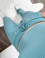 Костюм женский двойка (топ укороченный и штаны свободного кроя), фото 3