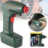 Компресор Air Compressor Dragon автомобільний зелений, Портативний повітряний компресор від прикурювача, фото 3