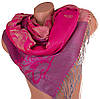 Невероятный яркий женский двусторонний палантин из пашмины 170 на 68 см ETERNO (ЭТЕРНО) ES0406-8-4
