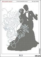 Схема для вышивки бисером Свадебный танец