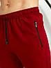 Чоловічий подовжений демісезонний трикотажний спортивний костюм на блискавці з капюшоном Tailer Високий Зріст 50-58, фото 6
