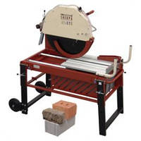 SHEPRA Cтанок для резки толстых материалов, кирпичей, мрамора, натурального камня, цементных глыб.