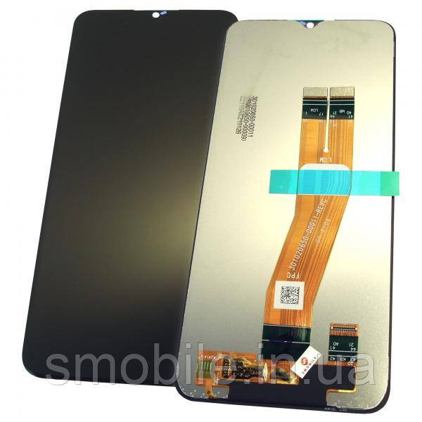 Дисплей Samsung A025F / A025M / Galaxy A02S з сенсором, чорний GH81-18456A (оригінал 100%)