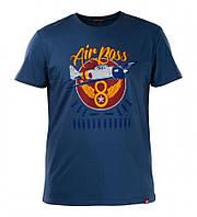 Футболка Airboss Red Sun Tee MSU247525 (синій металік), фото 1