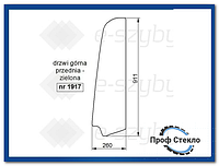 Стекло Hitachi ZX29U-3 мини-экскаватор ZX33U-3 Hitachi ZX38U-3 ZX60USB-3 - верхняя передняя дверь