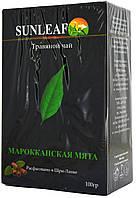 Чай травяной SunLeaf Мароканська м'ята 100г