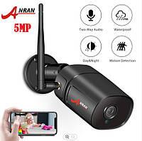 ANRAN 5 MP Wirelessi IP / WiFi - камера 1920P HD наружная камера видеонаблюдения двухстороннее аудио