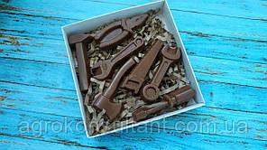 """Шоколадный набор """"Мини инструменты"""" 70 грамм в упаковке"""
