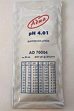 Готовий калібрувальний розчин ADWA AD70004 для РН-метрів РН 4,01±0,01 Угорщина. 20 ml
