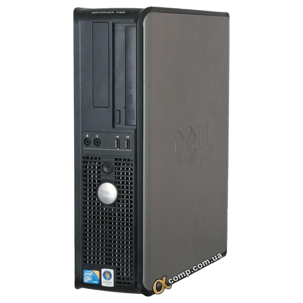 Комп'ютер Dell 780 (Core2Duo E8600/4Gb/500Gb) БО desktop