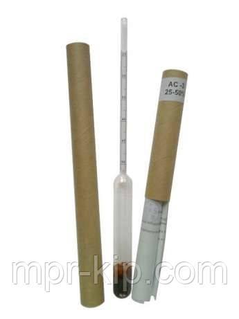 Ареометри для цукру АС-3 25-50 % ГОСТ 18481-81 з Повіркою