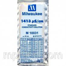 Калібрувальний розчин M10031B 1413 μs/cm (мкСм) для кондуктометров MILWAUKEE 20мл,США