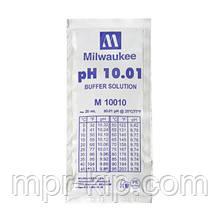 Калібрувальний розчин M10010B pH 10.01 MILWAUKEE 20мл,США