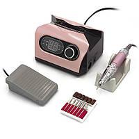 Фрезер для маникюра Drill pro ZS 717 65 Вт 45 000 об, Розовый