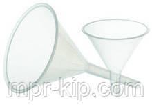 Воронка лабораторна пластикова (діаметр - 75мм) поліпропілен
