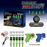 """Ігровий набір для хлопчика """"Повітряний тир"""" із серії """"Dark Shot"""" 3361 з літаючими мішенями, працює від батарейок, фото 2"""