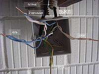 Разводка проводов в распаячной коробке