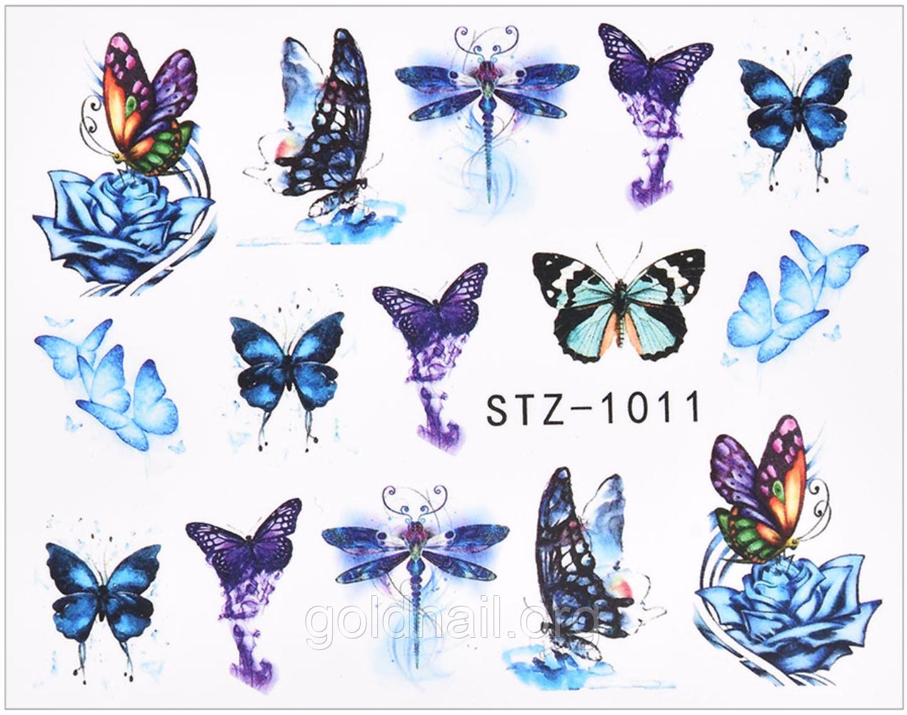 Слайдер водний для дизайну нігтів STZ - 1011