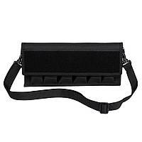 Підсумок Kosibate під 6 пістолетних магазинів Glock 17 1911 чорний