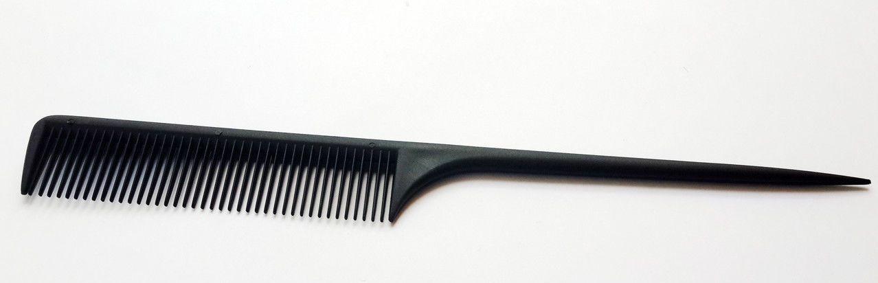 Расческа-гребень с остроконечной ручкой для волос Christian CLR-274