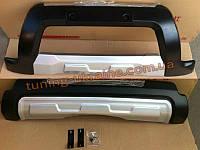 Накладки на бампер передняя и задняя Geely Emgrand X7