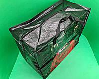 Господарська Сумка , поліпропіленова, з кольоровим малюнком №5 Велика Троянда (10 шт), фото 1