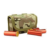 Підсумок Molle на 10 патронів 12 калібру військовий камуфляж