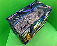 Господарська Сумка , поліпропіленова, з кольоровим малюнком №5 Лондон (10 шт), фото 1