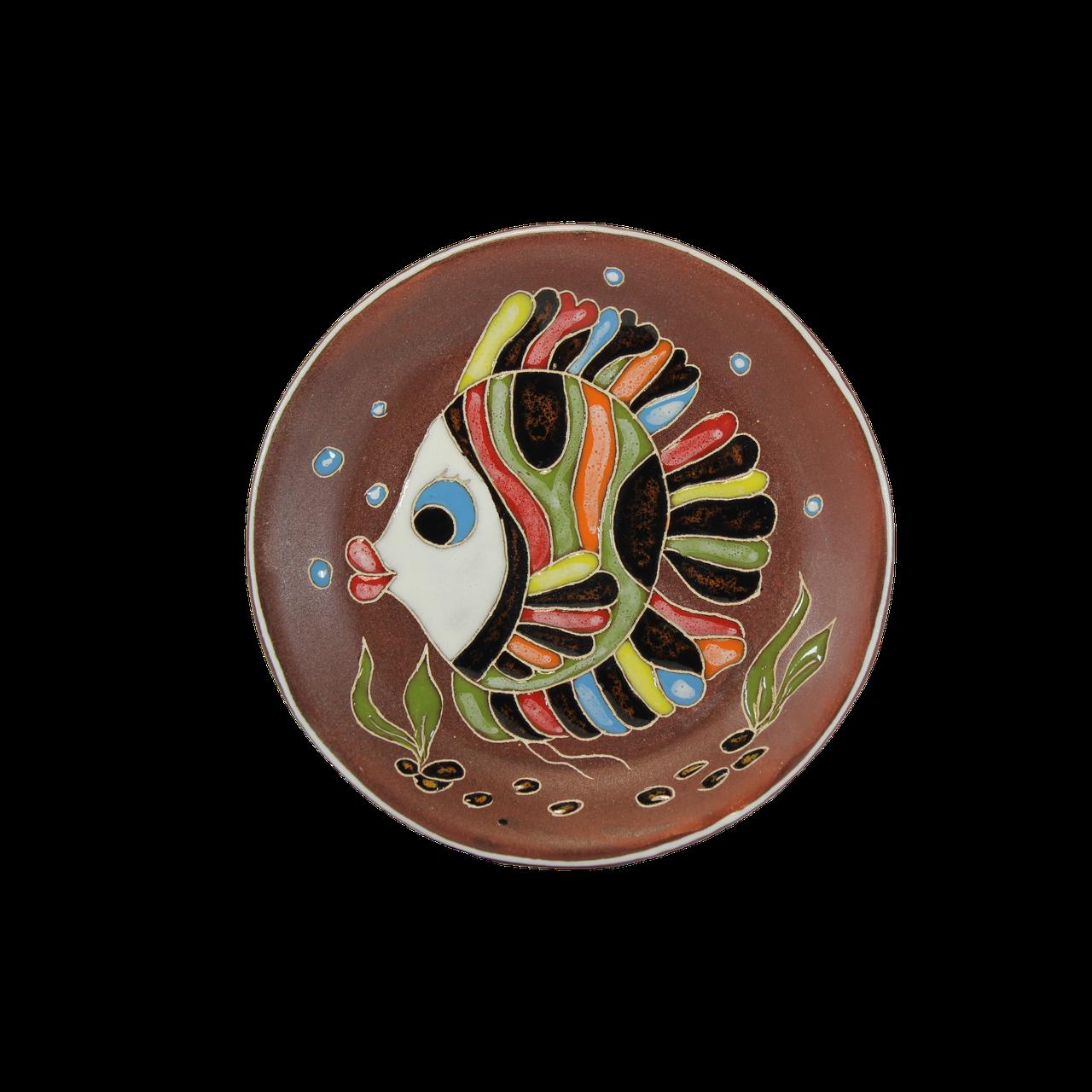 """Блюдце п/ч """"Рыбка Ирокез"""""""