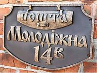 Почтовая накладка с адресом