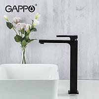 Смеситель для раковины Gappo G1017-62 высокий