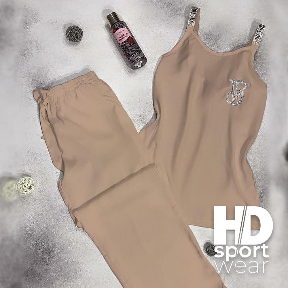 Женские пижамы Victoria Secret, королевский атлас