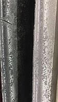 Плотная однотонная шторная ткань жаккард с легким напылением, высота 2.8 м на метраж, фото 3