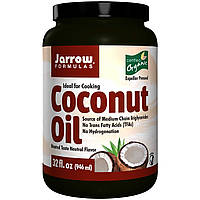 Кокосовое масло органическое, Jarrow Formulas, 946 мл