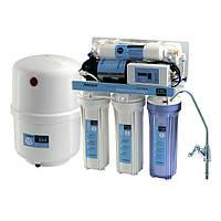 Система обратного осмоса для фильтрации воды CAC-ZO-5P/DD (с насосом и контроллером)