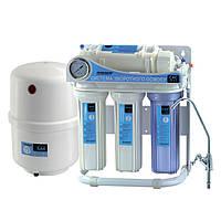 Система обратного осмоса для фильтрации воды CAC-ZO-5/G (без насоса, с манометром)