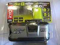 Литий-ионный аккумулятор Ryobi RB18L40