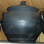 Баняк - каструля керамічний авторський 5-7л, фото 2