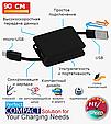 Кабель Promate Yank-LT Lightning-USB 0.9 м Black, фото 2