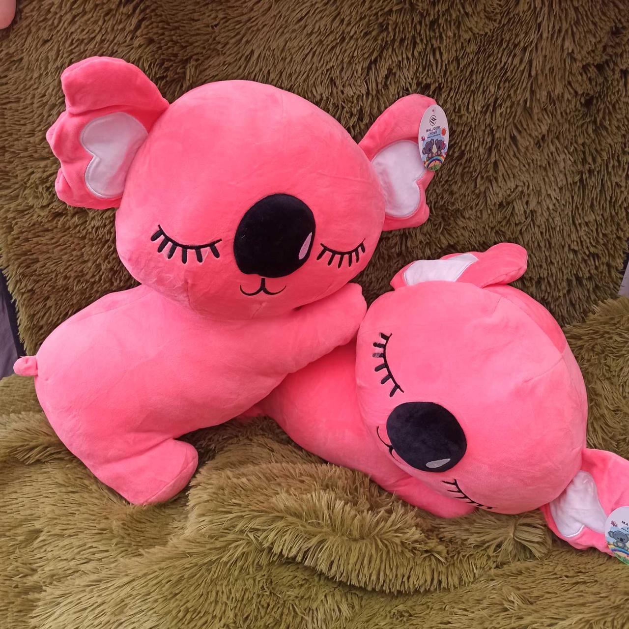 Плед игрушка подушка 3 в1 Коала | Игрушка детский плед | Игрушки-Подушки | Мягкая игрушка Розового цвета