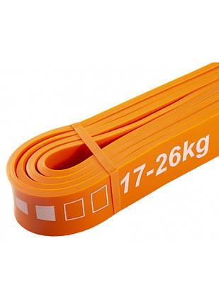 Еспандер-петля (резина для фітнесу і спорту) SportVida Power Band 28 мм 17-26 кг SV-HK0191, фото 2