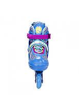 Роликові ковзани Nils Extreme NJ4613A Size 38-41 Blue, фото 3