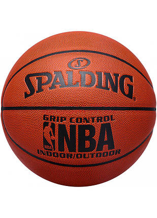 М'яч баскетбольний Spalding NBA Grip Control IN/OUT Size 7, фото 2