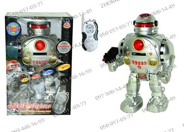 Интерактивный Робот 28083B, танцует, говорит на английском, ходит, имеет световые эффекты. Желанный подарок , фото 2