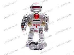 Интерактивный Робот 28083B, танцует, говорит на английском, ходит, имеет световые эффекты. Желанный подарок , фото 3