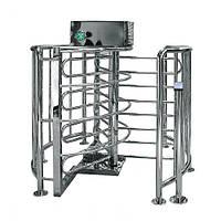 Автоматизированный турникет-проходная Cyclone (шлифованная нержавеющая сталь)