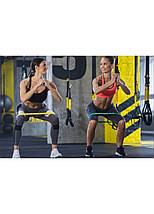 Резинка для фітнесу та спорту (стрічка-еспандер) еластична 4FIZJO Mini Power Band 15-20 кг 4FJ0013, фото 3